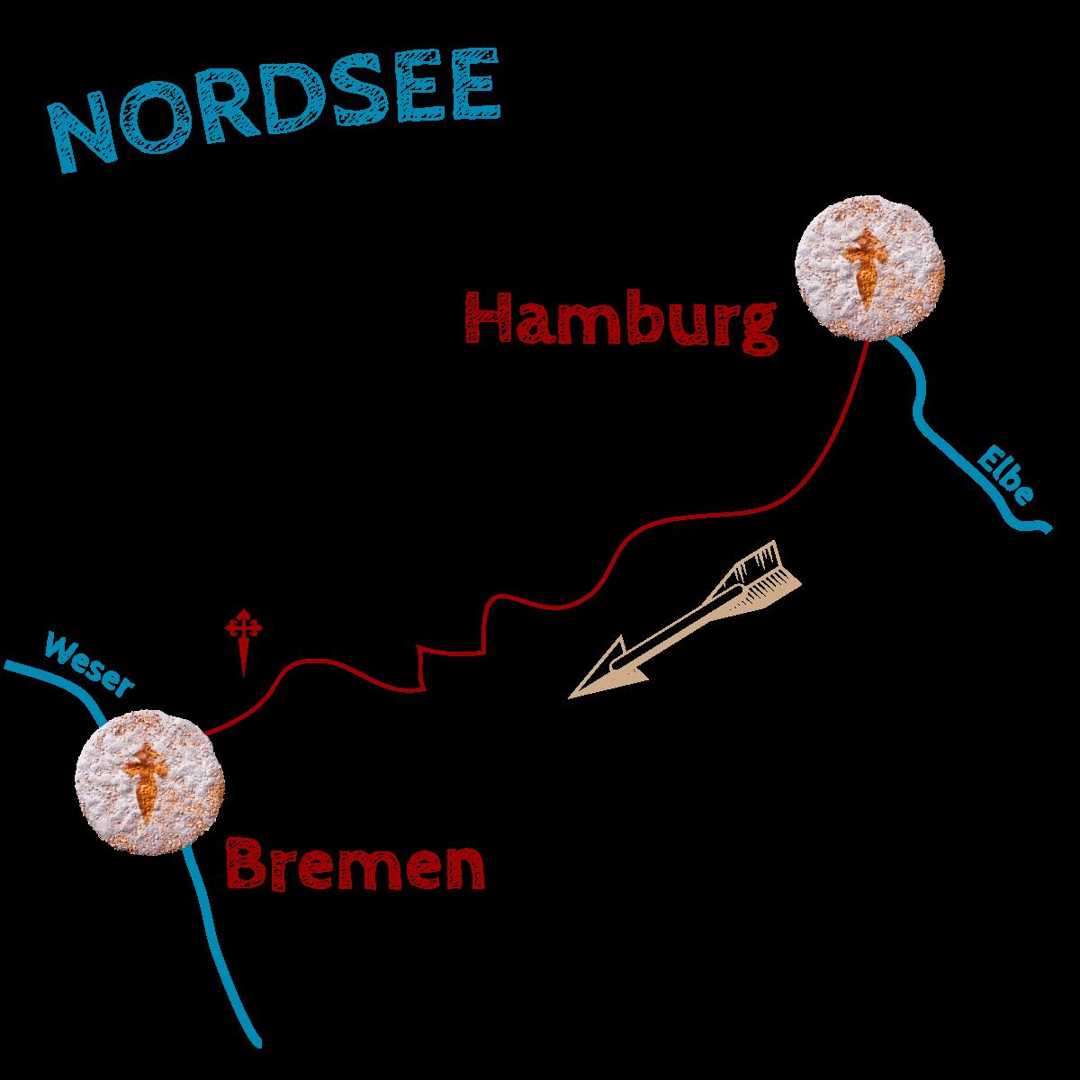 Wegegrafik-Hamberug-Bremen
