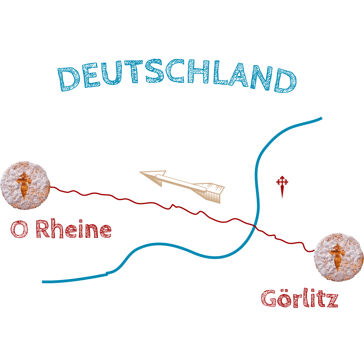 Wegegrafik-O-Rheine-Görlitz