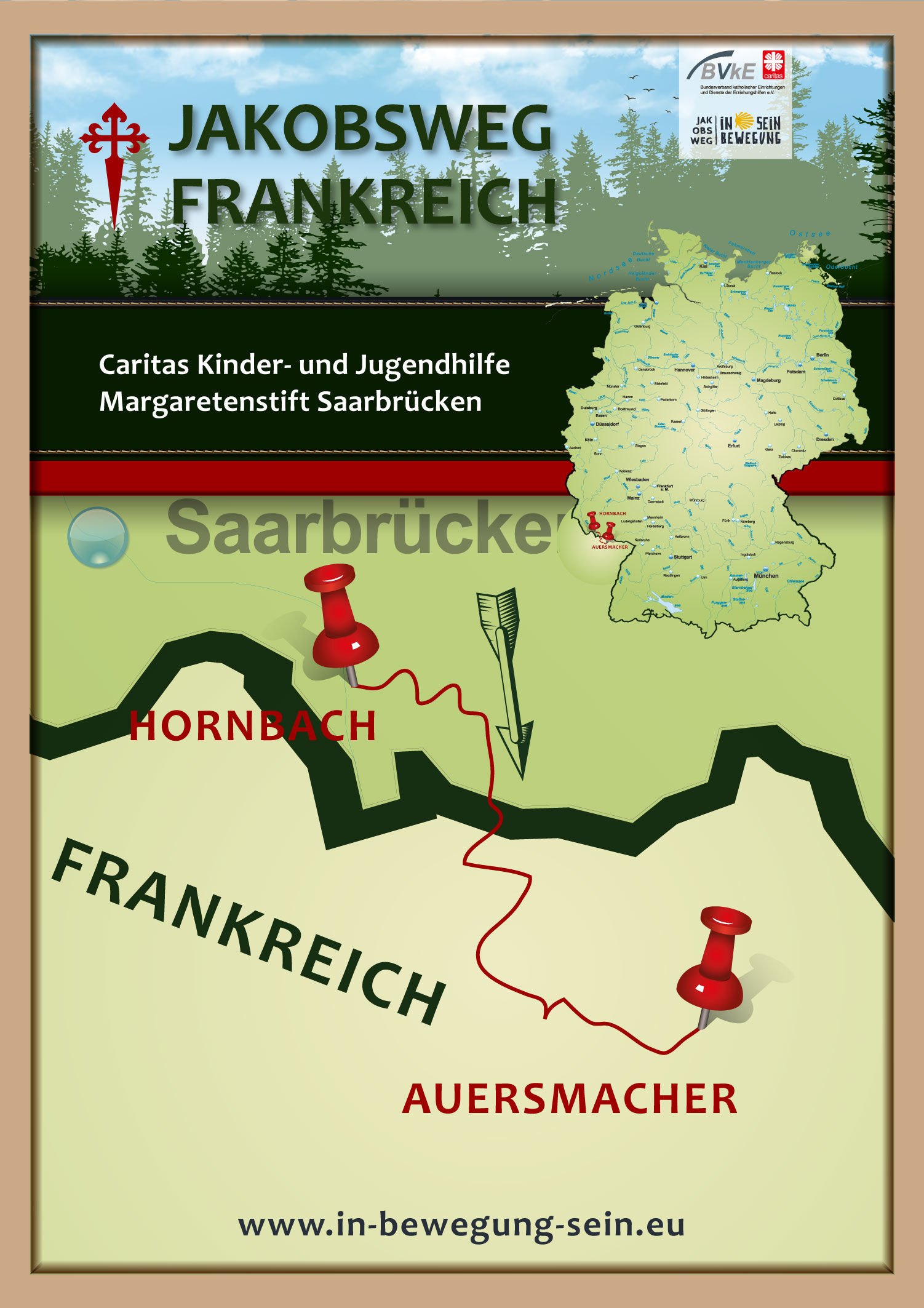 Posterkarte-Caritas-Margaretenstift-Saarbrücken-Plakat-a