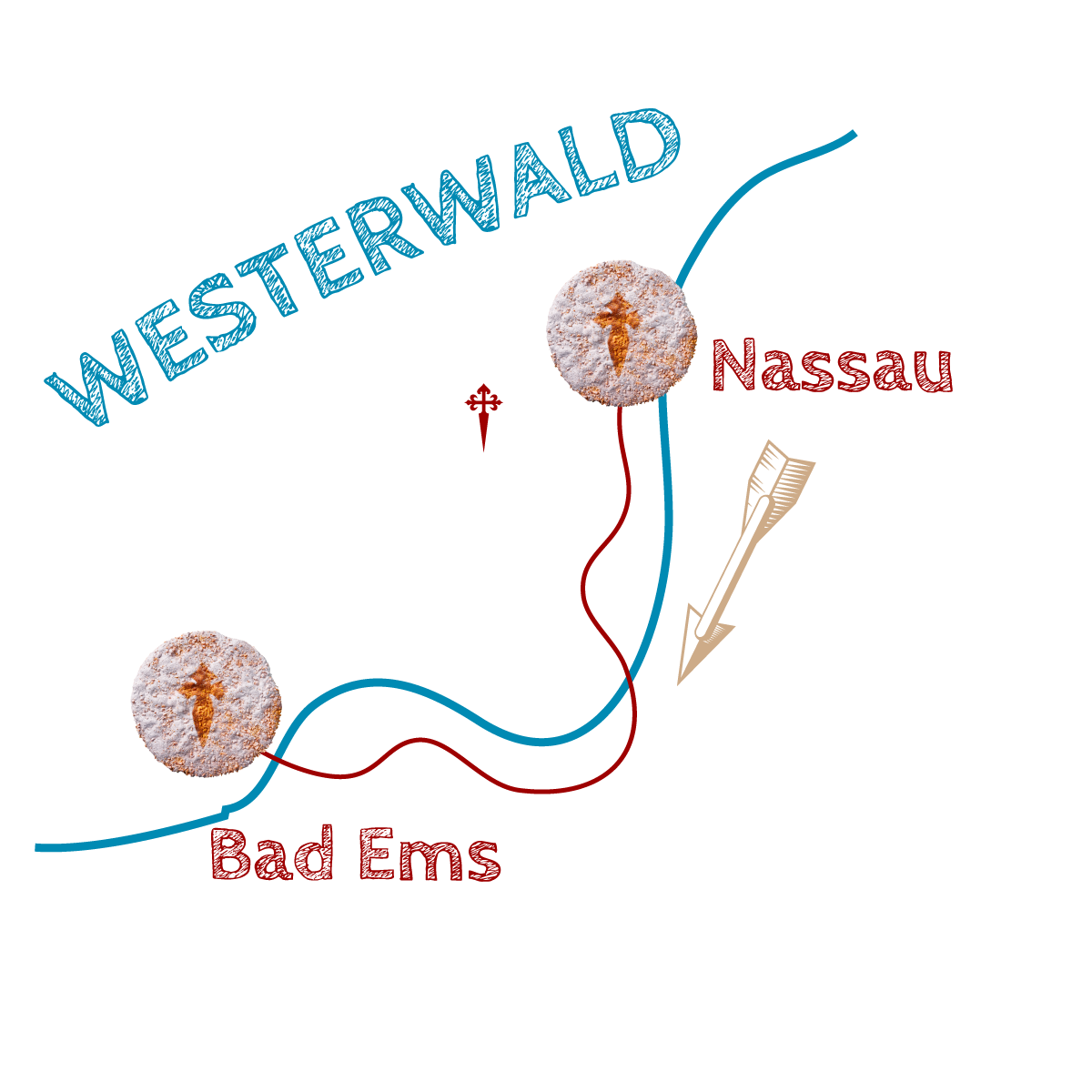 Wegegrafik-Westerwald-Nassau-Bad-Ems