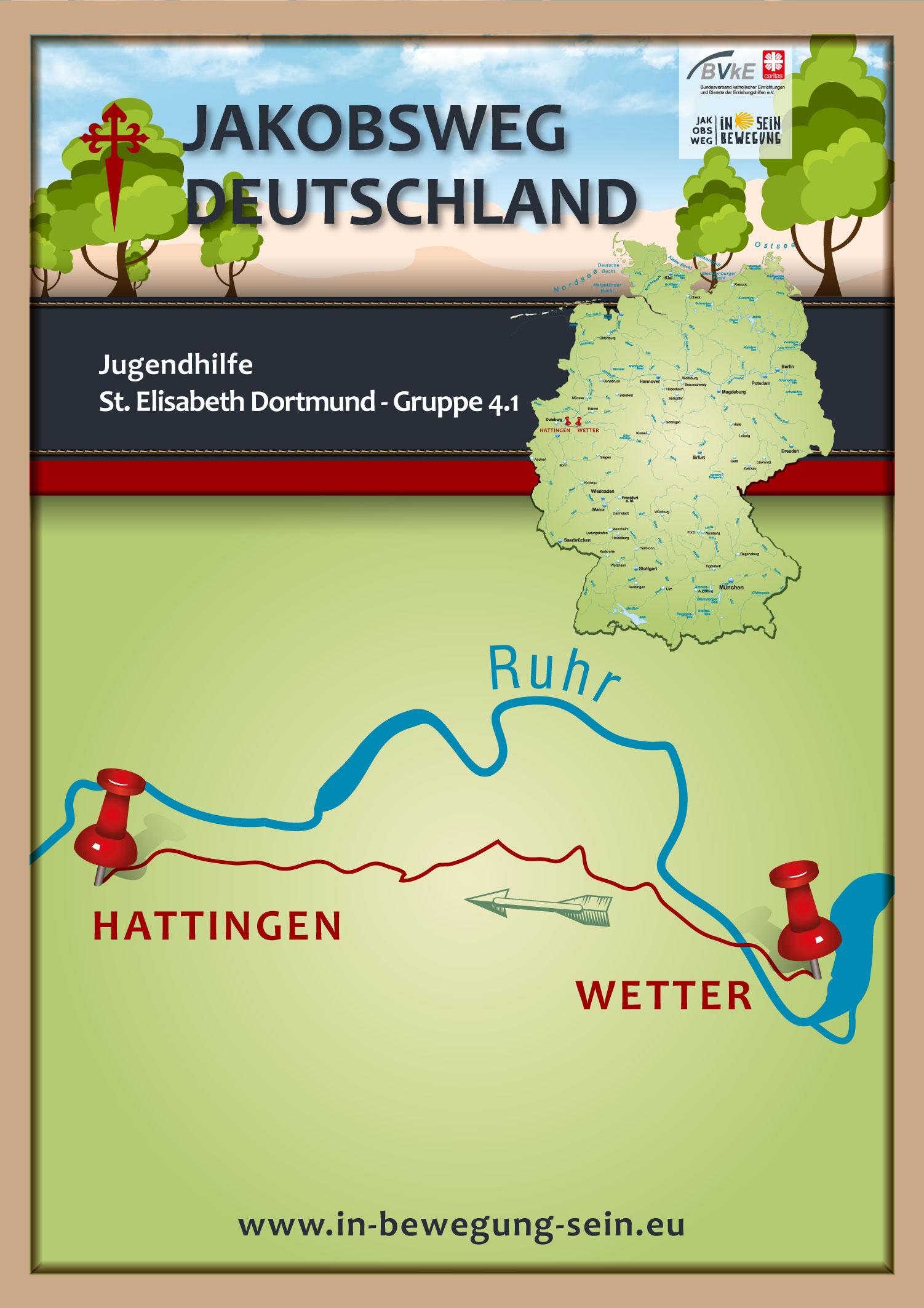 Posterkarte-Josefshaus-Jugendhilfe-St-Elisabeth-Dortmund-Gruppe-4-Plakat