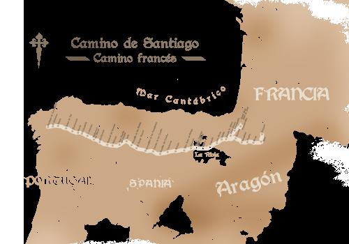 Alte-Landkarte-Jakobsweg-a