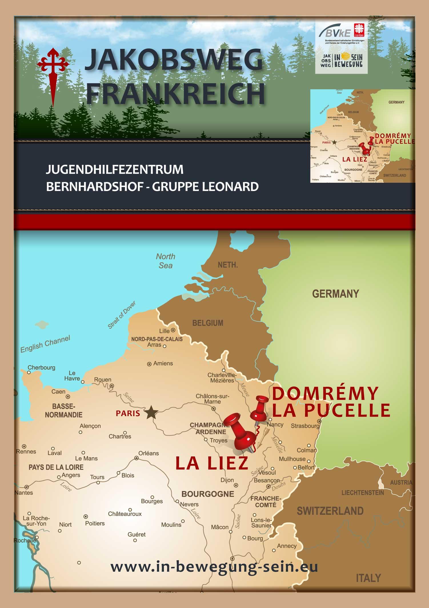 Posterkarte-Gruppe-Jugendhilfezentrum-Bernhardshof-Gruppe-Leonard-17-Juni-2019-