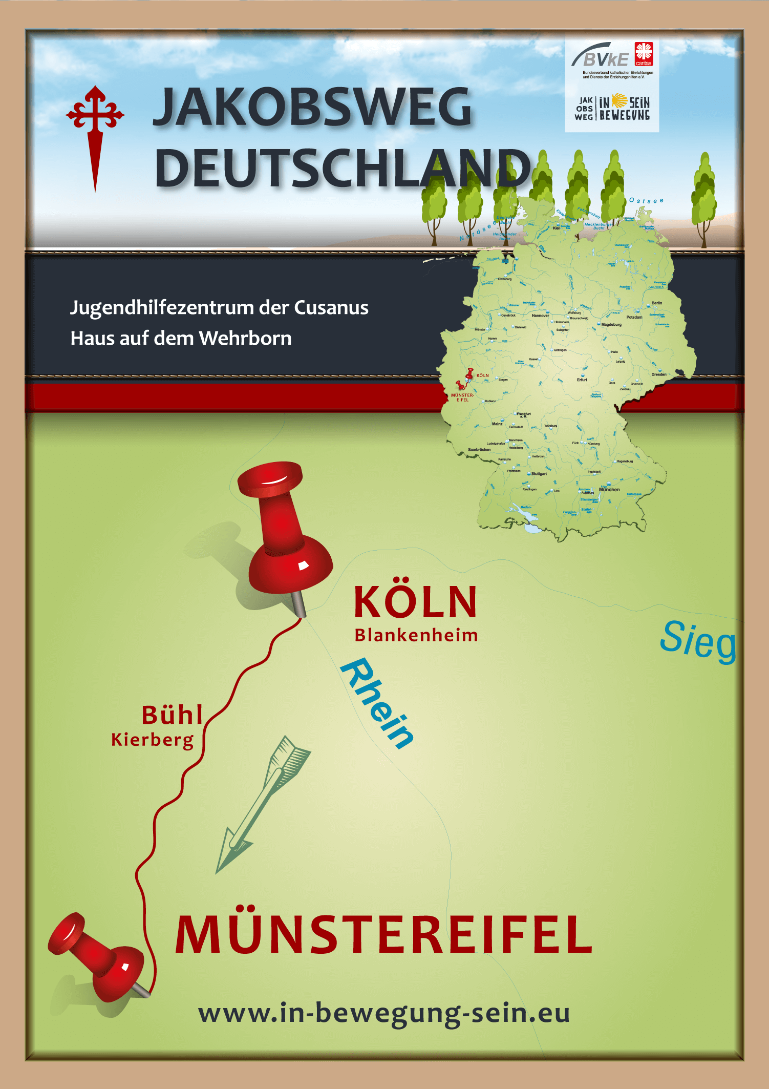 Posterkarte-JUGENDHILFEZENTRUM-DER-CUSANUS---WEHRBORN---AACH-2019-Köln