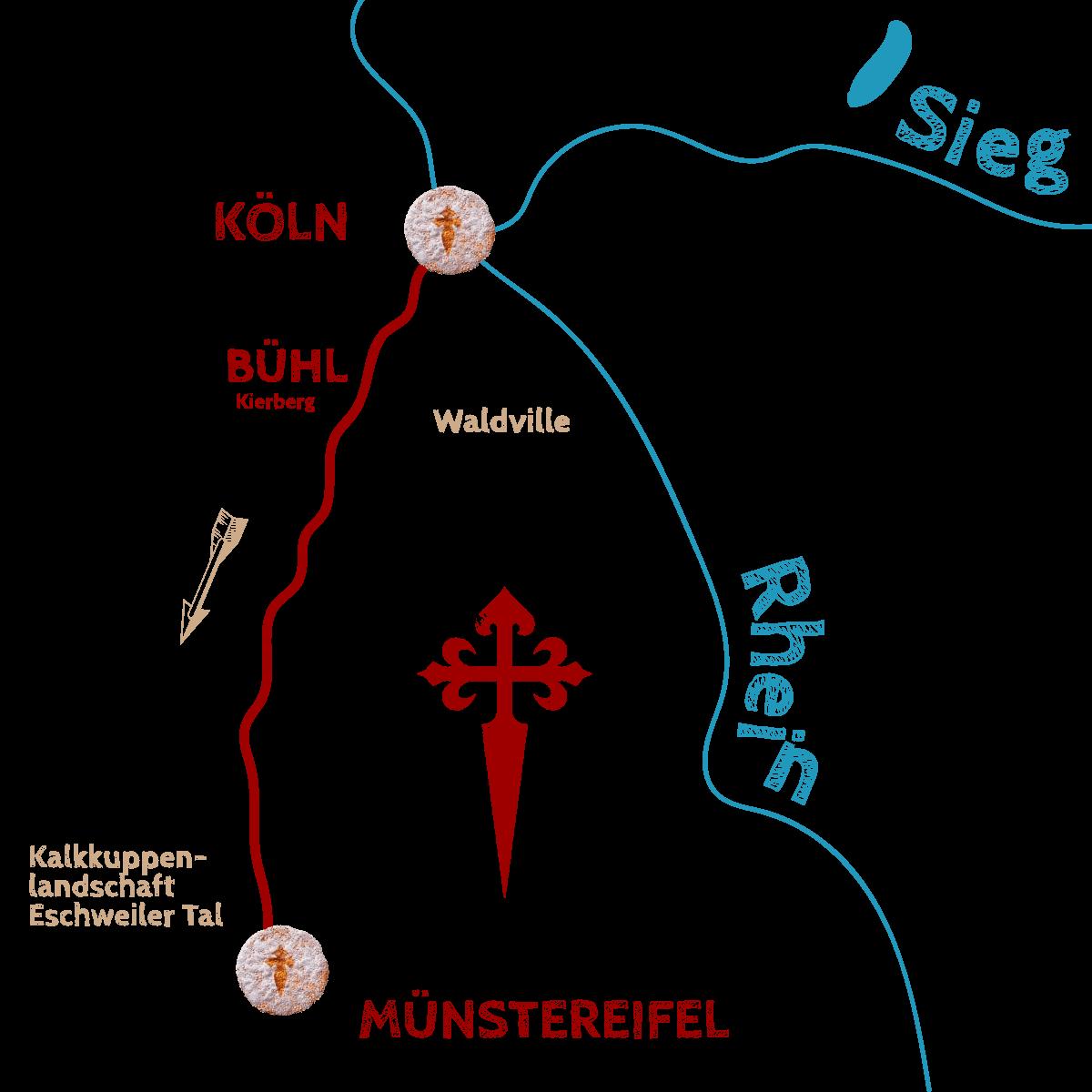 Wegegrafik-Kleiner-Jugendhilfezentrum-der-Cusanus-2019-Juli-Köln